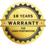 10 Years warranty for non-corrosion on the aluminum heating block.