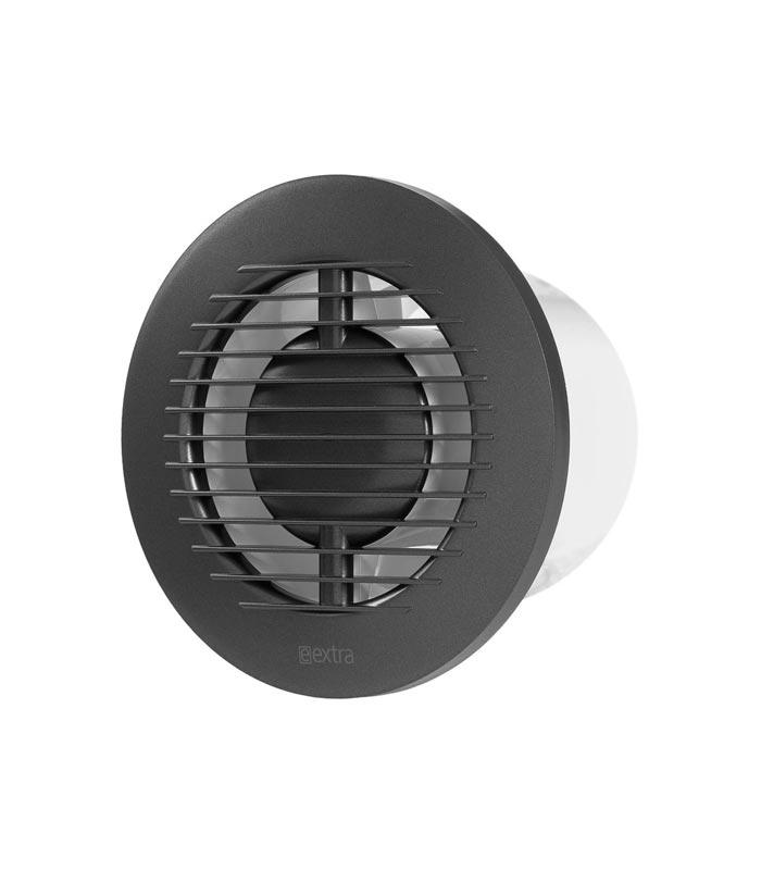 Europlast EA100A - Εξαεριστήρας μπάνιου στρογγυλός Ανθρακί
